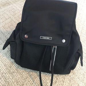 NWOT Calvin Klein Backpack/Bookbag Black